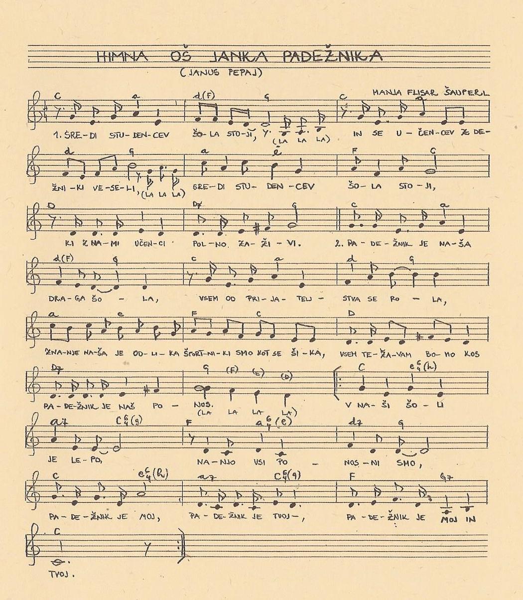 Šolska himna